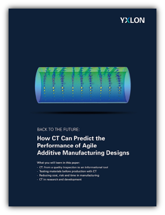How CT Can Predict the Performance of Agile Additive Manufacturing Designs